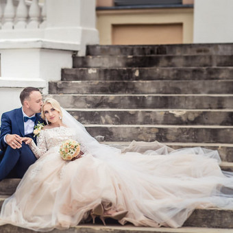Spalvinga vestuvinė fotografija Fotorama / Dalia / Darbų pavyzdys ID 496409