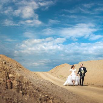 Spalvinga vestuvinė fotografija Fotorama / Dalia / Darbų pavyzdys ID 496415