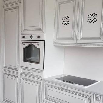 """Virtuvės baldai. Vonios baldai. Akmuo. UAB """"Forestė"""" / Dizainerė Audronė Baldai-Interjeras / Darbų pavyzdys ID 496453"""