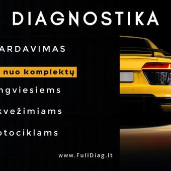 Auto diagnostikos įranga - Diagnostika Kaune / UAB Mega group Europe / Darbų pavyzdys ID 496959