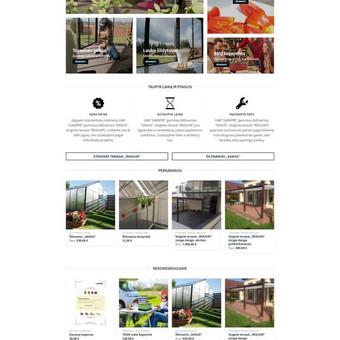 gampreshop.com - sukurta el. parduotuvė pagal kliento ir potencialaus pirkėjo poreikius.