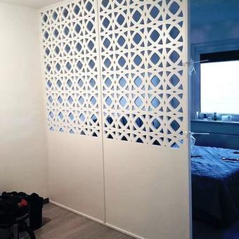 Frezavimas, ažūrinės sienelės, pertvaros / Kiaura siena / Darbų pavyzdys ID 497113