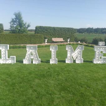 Šviečiančios raidės