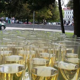 Stilingas šventinis šampano- vaišių staliukas po ceremonijos / Ramunė / Darbų pavyzdys ID 497199