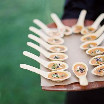 Stilingas šventinis šampano- vaišių staliukas po ceremonijos / Ramunė / Darbų pavyzdys ID 497241