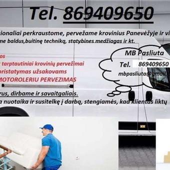 Perkraustymo paslaugos Panevėžyje / MB Pasliuta / Darbų pavyzdys ID 497735