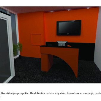 Interjero dizainas. Ofiso patalpų projektavimas. / Bright mark / Darbų pavyzdys ID 497783