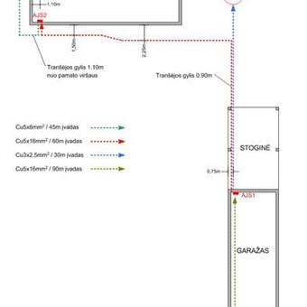 Elektros instal. darbai ir projektavimas / Tomas Kalinauskas / Darbų pavyzdys ID 499197