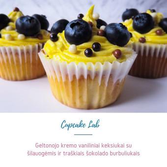 Cupcake Lab - laimės keksiukai / Eglė Jankauskaitė / Darbų pavyzdys ID 499245