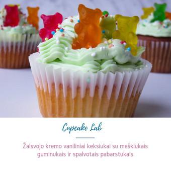Cupcake Lab - laimės keksiukai / Eglė Jankauskaitė / Darbų pavyzdys ID 499247