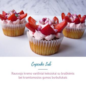Cupcake Lab - laimės keksiukai / Eglė Jankauskaitė / Darbų pavyzdys ID 499249