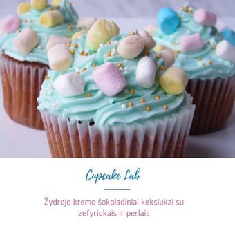 Cupcake Lab - laimės keksiukai / Eglė Jankauskaitė / Darbų pavyzdys ID 499253