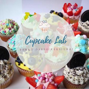 Cupcake Lab - laimės keksiukai / Eglė Jankauskaitė / Darbų pavyzdys ID 499257