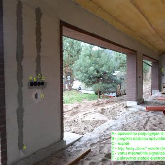 Elektros instal. darbai ir projektavimas / Tomas Kalinauskas / Darbų pavyzdys ID 499385