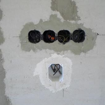 Elektros instal. darbai ir projektavimas / Tomas Kalinauskas / Darbų pavyzdys ID 499387