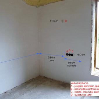 Elektros instal. darbai ir projektavimas / Tomas Kalinauskas / Darbų pavyzdys ID 499407
