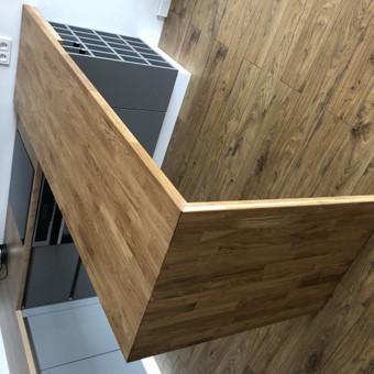 """Virtuvės baldai. Vonios baldai. Akmuo. UAB """"Forestė"""" / Dizainerė Audronė Baldai-Interjeras / Darbų pavyzdys ID 499629"""