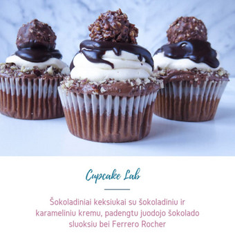 Cupcake Lab - laimės keksiukai / Eglė Jankauskaitė / Darbų pavyzdys ID 499751