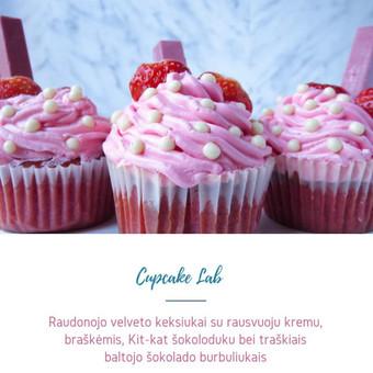 Cupcake Lab - laimės keksiukai / Eglė Jankauskaitė / Darbų pavyzdys ID 499755