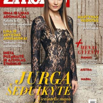 """Suknelės kūrimas garsaus Lietuvos žurnalo """"Žmonės"""" viršeliui."""