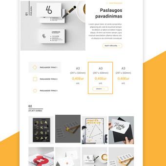 Penktadieniškai gražus web dizainas / Not Monday / Darbų pavyzdys ID 500589