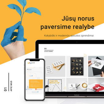 Intuityvus ir autentiškas web dizainas / Not Monday / Darbų pavyzdys ID 500591