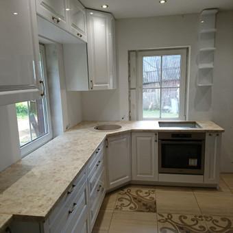 Mdf dažyta virtuvė