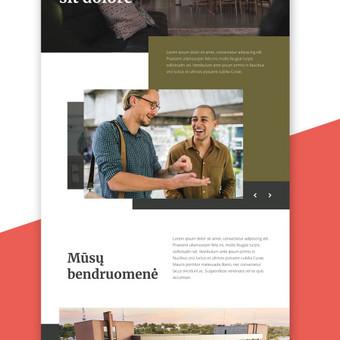 Penktadieniškai gražus web dizainas / Not Monday / Darbų pavyzdys ID 500779