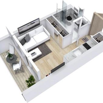 3D planai, 2D planai, vizualizacijos / Elina / Darbų pavyzdys ID 501301