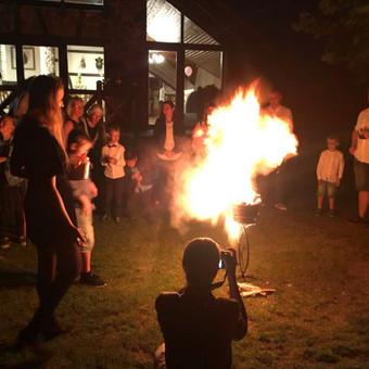 50-mečio šventė pagoniška gintaro dulkių ceremonija