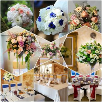 Vestuvinė atributika, puokštės, balionai / Agava gėlių studija / Darbų pavyzdys ID 501351