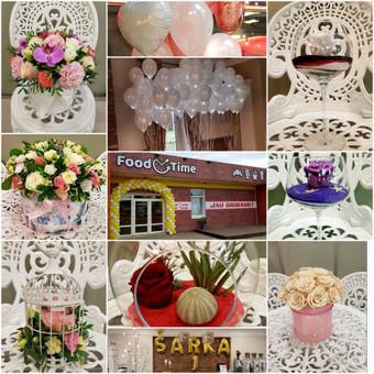 Vestuvinė atributika, puokštės, balionai / Agava gėlių studija / Darbų pavyzdys ID 501353