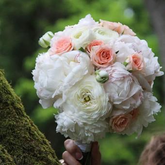 Vestuvinė atributika, puokštės, balionai / Agava gėlių studija / Darbų pavyzdys ID 501357