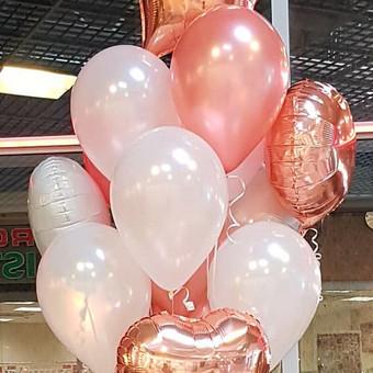 Vestuvinė atributika, puokštės, balionai / Agava gėlių studija / Darbų pavyzdys ID 501361