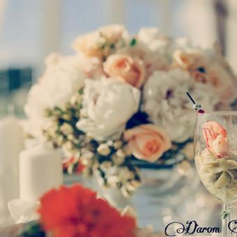 DAROM ŠVENTĘ? TAIP! Jūsų vestuvių dekoras ir organizavimas. / Darom šventę / Darbų pavyzdys ID 501483