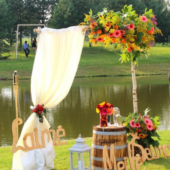 DAROM ŠVENTĘ? TAIP! Jūsų vestuvių dekoras ir organizavimas. / Darom šventę / Darbų pavyzdys ID 501493