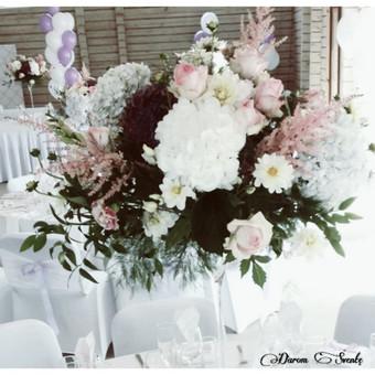 DAROM ŠVENTĘ? TAIP! Jūsų vestuvių dekoras ir organizavimas. / Darom šventę / Darbų pavyzdys ID 501495