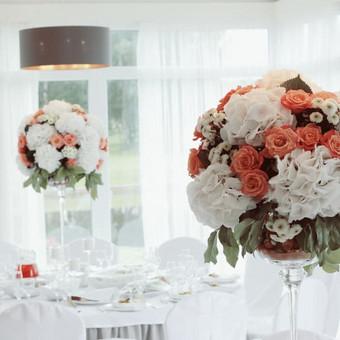 DAROM ŠVENTĘ? TAIP! Jūsų vestuvių dekoras ir organizavimas. / Darom šventę / Darbų pavyzdys ID 501507
