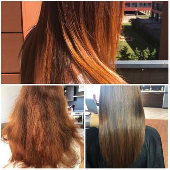 Encanto / Cocochoco plaukų tiesinimas / Tiesinimas By Q / Darbų pavyzdys ID 501673