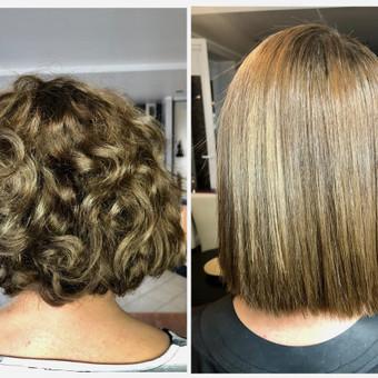 Encanto / Cocochoco plaukų tiesinimas / Tiesinimas By Q / Darbų pavyzdys ID 501675