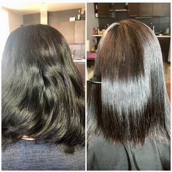 Encanto / Cocochoco plaukų tiesinimas / Tiesinimas By Q / Darbų pavyzdys ID 501677
