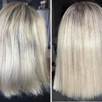 Encanto / Cocochoco plaukų tiesinimas / Tiesinimas By Q / Darbų pavyzdys ID 501679