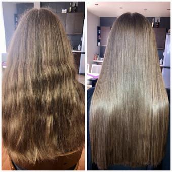Encanto / Cocochoco plaukų tiesinimas / Tiesinimas By Q / Darbų pavyzdys ID 501681