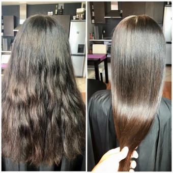 Encanto / Cocochoco plaukų tiesinimas / Tiesinimas By Q / Darbų pavyzdys ID 501685