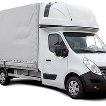 Vežamas svoris – iki 1500 kg. Tentinis krovininis mikroautobusas su bortais. Galima įkrauti ir per galą ir per šonus. Telpa 8 euro paletės. Matmenys: ilgis - 4.40m, aukštis - 1.80m, plotis -  ...