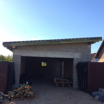 garažo statyba