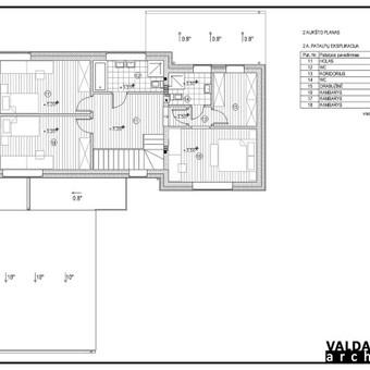 Atestuotas Architektas Vilniuje/Kaune-Gyvenamų n. projektai / Valdas Barvainis / Darbų pavyzdys ID 502795