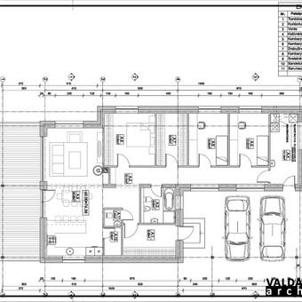 Atestuotas Architektas Vilniuje/Kaune-Gyvenamų n. projektai / Valdas Barvainis / Darbų pavyzdys ID 502819