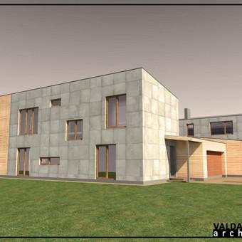 Atestuotas Architektas Vilniuje/Kaune-Gyvenamų n. projektai / Valdas Barvainis / Darbų pavyzdys ID 502833