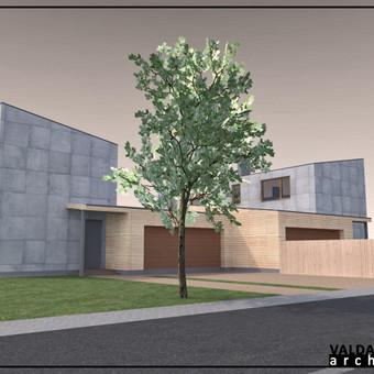 Atestuotas Architektas Vilniuje/Kaune-Gyvenamų n. projektai / Valdas Barvainis / Darbų pavyzdys ID 502835
